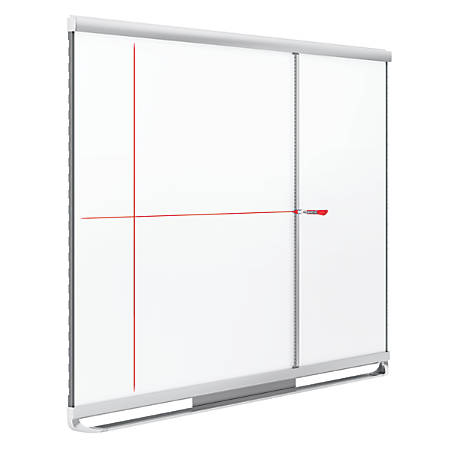 Quartet® Prestige® 2 Connects™ Full Board Grid Assistant, For 4' x 3' Boards, Silver