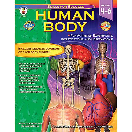 Carson-Dellosa Skills For Success Book, Human Body: Grades 4-6