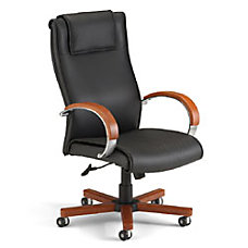 OFM Apex High Back Leather Chair