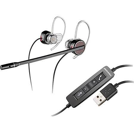 Plantronics® Blackwire Over-The-Ear Earset, C435-M