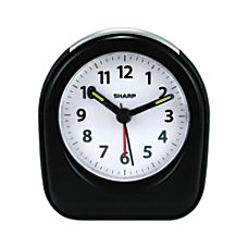 Sharp Ascending Alarm Quartz Analog Battery