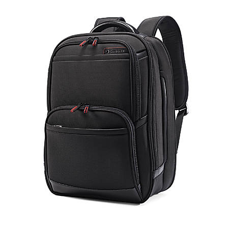 """Samsonite® Pro 4 DLX Perfect Fit Urban Backpack With 15.6"""" Laptop Pocket, Black"""