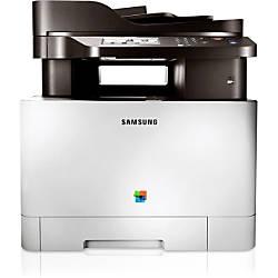 samsung clx 4195fw laser multifunction printer color plain paper print desktop by office depot. Black Bedroom Furniture Sets. Home Design Ideas