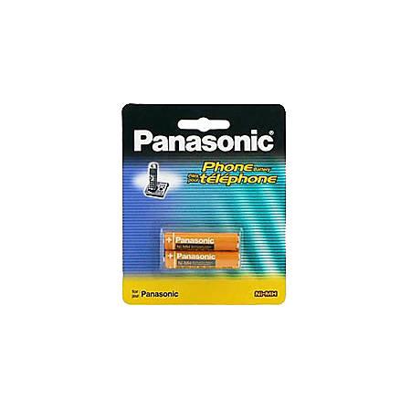 Panasonic Nickel Metal Hydride Cordless Phone Battery - Nickel-Metal Hydride (NiMH) - 1.2V DC