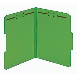 Pendaflex Colored Pressboard Tab Folders With