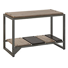 Bush Furniture Refinery Shoe Storage Bench