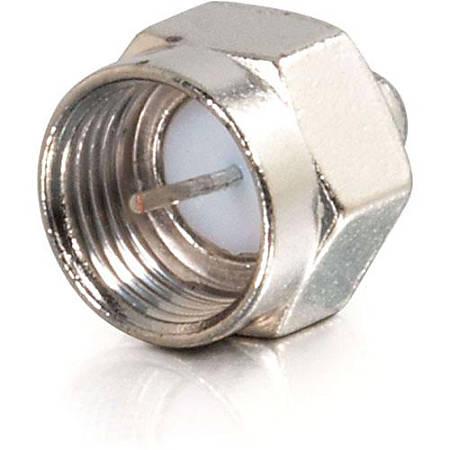 C2G 75 Ohm F-Type Male Terminators - 10pk - F Connector