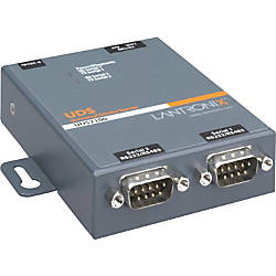 Lantronix 2 Port Serial RS232 RS422