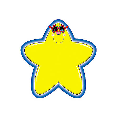 Carson-Dellosa Colorful Cut-Outs, Stars, Pack Of 36
