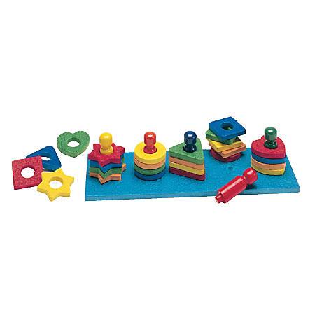 Playmonster Shape And Color Sorter Set, Assorted Colors, Grades Pre-K - 2