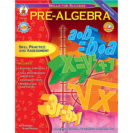 Carson-Dellosa Skills For Success Book — Pre-Algebra