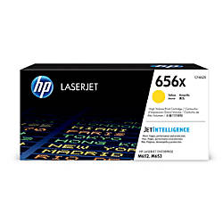 HP 656X Original Toner Cartridge Yellow