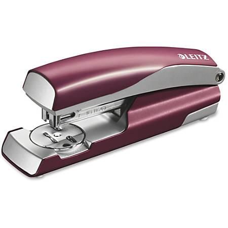 """Swingline NeXXt Series Style Desktop Stapler - 40 Sheets Capacity - Full Strip - 5/16"""" Staple Size - Red"""