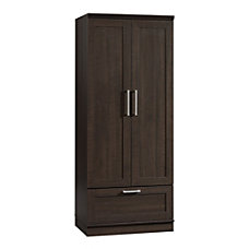 Sauder HomePlus WardrobeStorage Cabinet Dakota Oak