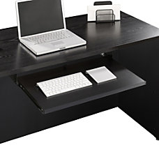 Sauder Via Keyboard Shelf Soft Black