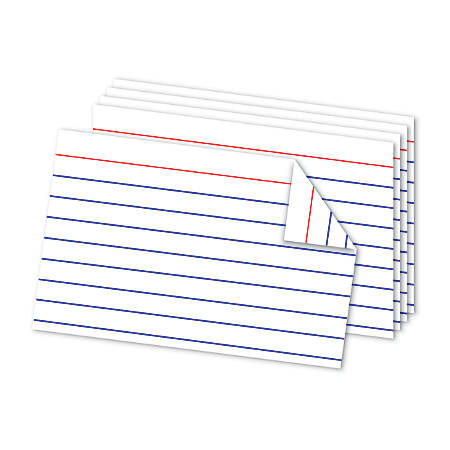 Office Depot® Brand Double Sided Index Cards, 4