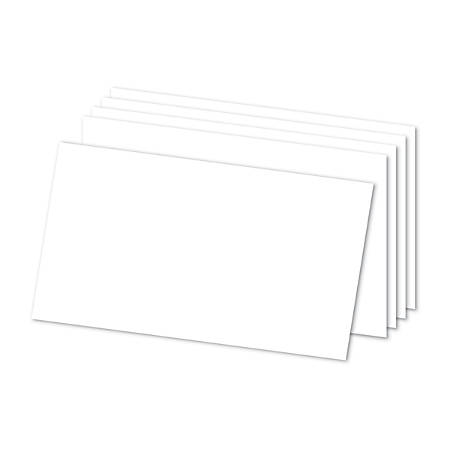 "Office Depot® Brand Index Cards, Blank, 5"" x 8"", White, Pack Of 300"