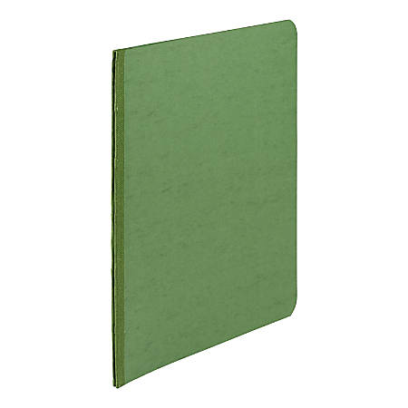"ACCO® Presstex® Binder, Side Bound, 11"" x 8 1/2"", 60% Recycled, Dark Green"