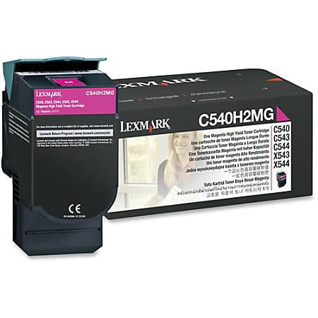 Lexmark™ C540H2MG High-Yield Magenta Toner Cartridge