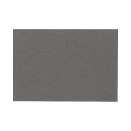 """LUX Flat Cards, A6, 4 5/8"""" x 6 1/4"""", Smoke Gray, Pack Of 500"""