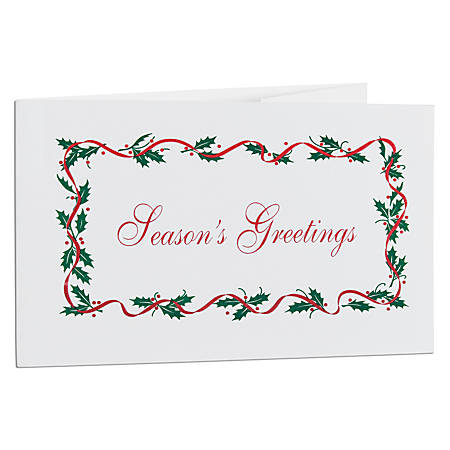 Seasons greetings gift certificates box of 50 by office depot seasons greetings gift certificates box of m4hsunfo