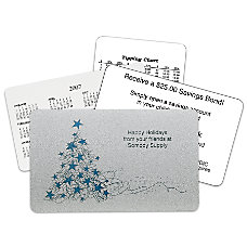 Spakling Tree Holiday Gift Card