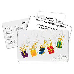 Dancing Presents Holiday Gift Card