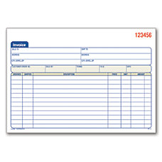 Invoices Statements At Office Depot OfficeMax - Invoice pads