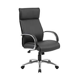 Boss Contemporary CaressoftPlus High Back Chair