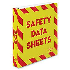 Avery Preprinted Safety Data Sheet Binder
