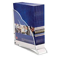 Swingline Stratus Acrylic Magazine Rack 10