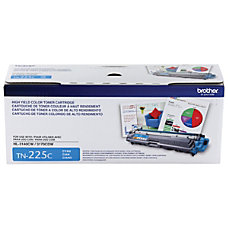 Brother TN 225C High Yield Toner