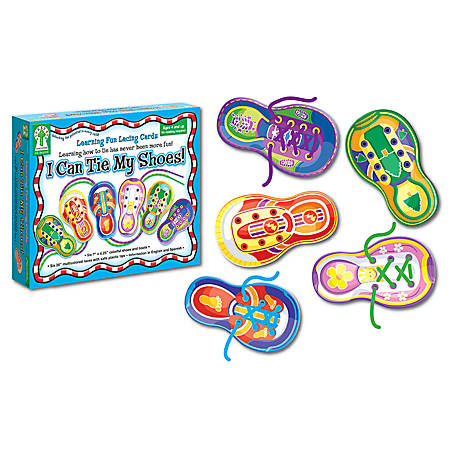 Carson-Dellosa Manipulatives — I Can Tie My Shoes