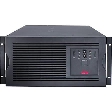 APC Smart-UPS 5000VA Rackmountable UPS - 5000VA/4000W - 9.4 Minute Full Load - 8 x IEC 320-C13, 2 x IEC 320-C19, 6 x IEC Jumper