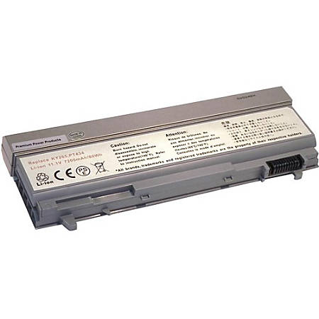 Replacement Laptop Battery for Dell 312-0749 - Fits in Dell Latitude E6400, E6400 ATG, E6400 XFR, E6410, E6410 ATG, E6500, e6510, M2400; Dell Precision M4400, M4500