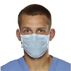 Medline Biomask Antiviral Face Masks, Blue, Box Of 50