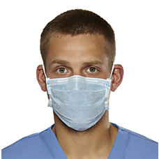 Medline Biomask Antiviral Face Masks Blue