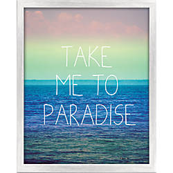PTM Images Framed Art Paradise 20