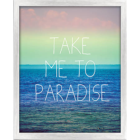 "PTM Images Framed Art, Paradise, 20 1/2""H x 17 1/2""W"