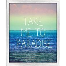 PTM Images Framed Art Paradise 20