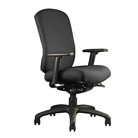 "Neutral Posture® Cozi™ Mid-Back Chair, 39""H x 26""W x 26""D, Black"