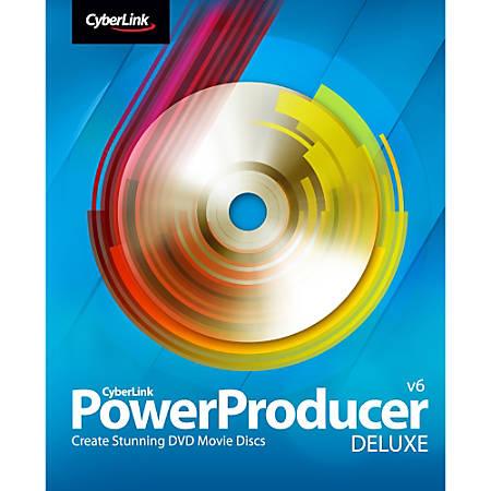CyberLink PowerProducer 6 Deluxe, Download Version