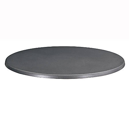 "Safco® Entourage Tabletop, Round, 32"", Black"