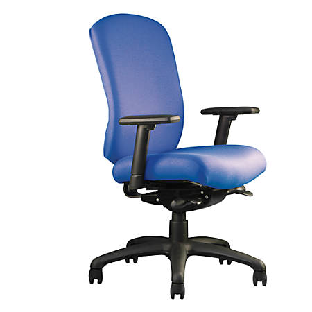 """Neutral Posture® Cozi™ Mid-Back Chair, 39""""H x 26""""W x 26""""D, Navy"""