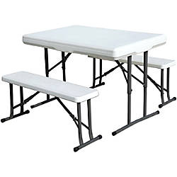 Stansport Folding Picnic Table With Bench