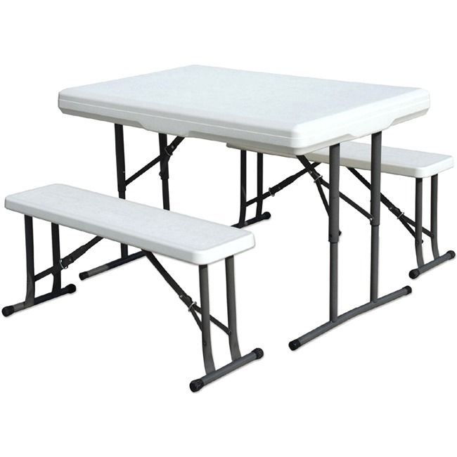 Unique Stansport Heavy Duty Picnic Table and Bench Set
