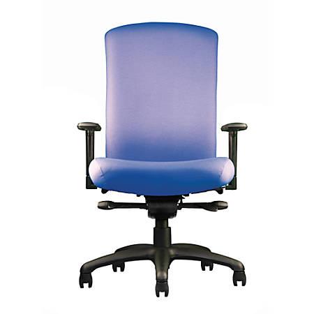 "Neutral Posture® Cozi™ High-Back Task Chair, 41""H x 26""W x 26""D, Navy"
