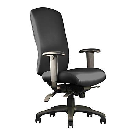 """Neutral Posture® N-dure™ High-Back Chair, 41""""H x 26""""W x 26""""D, Black"""