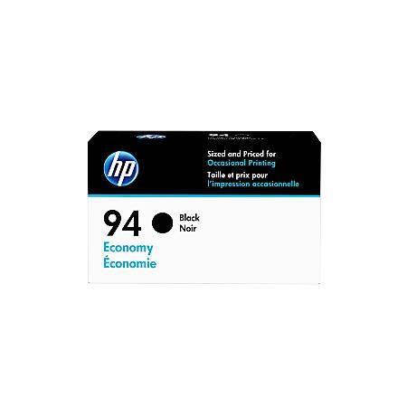 HP 94 Economy-Yield Black Ink Cartridge (D8J34AN)