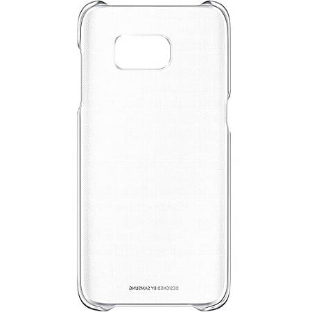 Samsung Galaxy S7 edge Protective Cover, Clear Silver